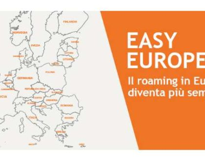 3 Italia annuncia Easy Europe; addio ai costi roaming in Europa