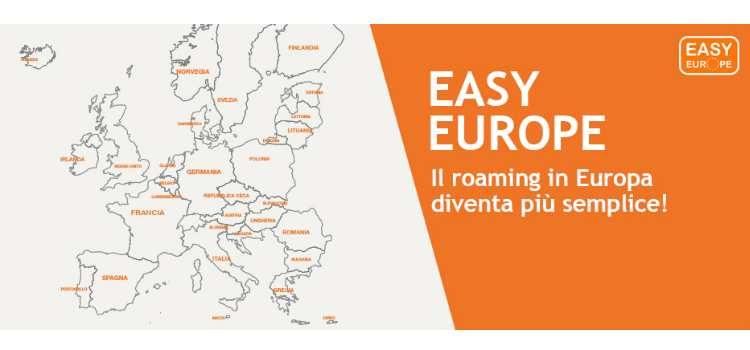 3 Italia annuncia Easy Europe; addio ai costi roaming in Europa