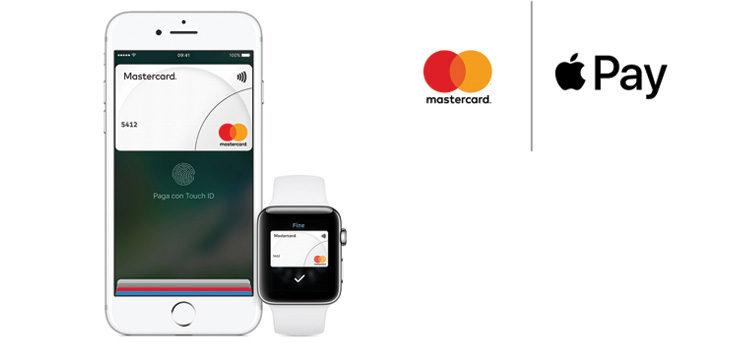 Apple Pay da oggi in Italia per i clienti Mastercard