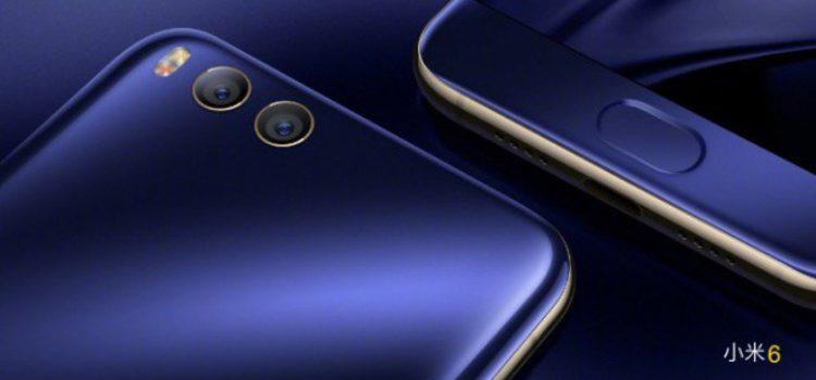 Xiaomi Mi 6 in offerta da 429€ su Gearbest