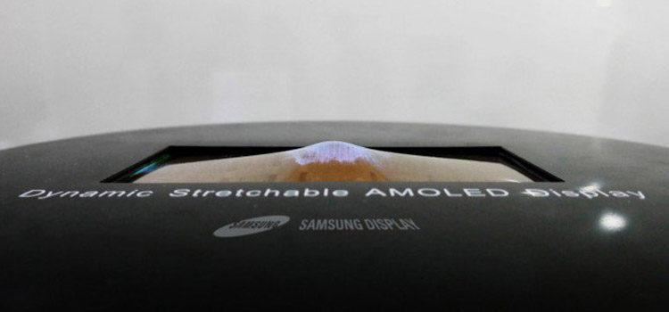 Samsung presenta il primo display elastico ed un 4K da 2 pollici