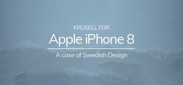 iPhone 8: Krussel lancia le nuove cover e conferma la doppia cam verticale