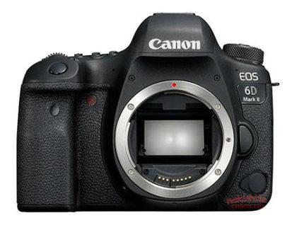 Canon EOS 6D Mark II mostrata in alcune immagini ufficiose