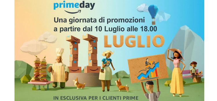 Amazon Prime Day, ecco le migliori offerte di oggi