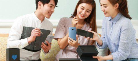Samsung Galaxy Note 7 Fan Edition lanciato ufficialmente in Corea