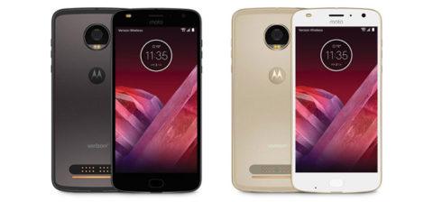 Motorola Moto Z2 Play è ufficiale. In Italia a 499 euro