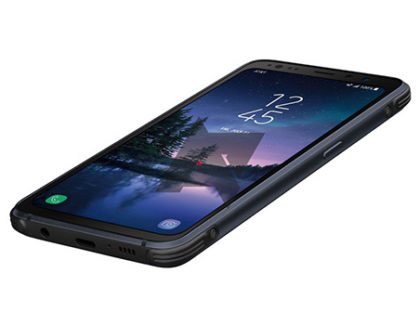 Samsung Galaxy S8 Active mostrato all'interno del manuale