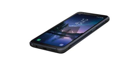 Samsung Galaxy S8 Active mostrato all'interno del manuale