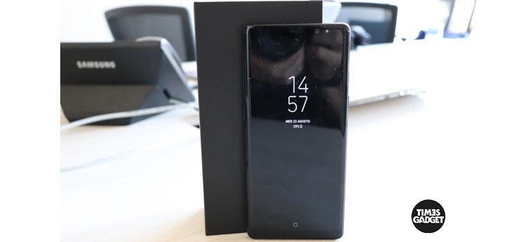 Del Galaxy Note 8 appare una variante da 256GB (Corea)