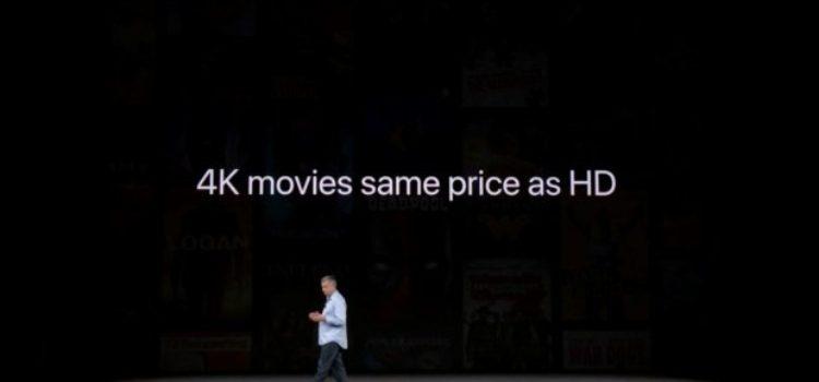 Arrivano su iTunes i primi video 4K HDR