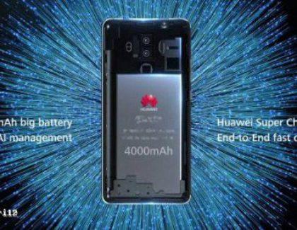 Confermato che il Huawei Mate 10 avrà una batteria da 4000 mAh