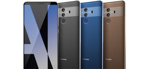 Huawei Mate 10 Pro, mostrato in anteprima in due foto dal vivo