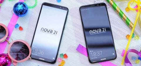 Huawei Nova 2i è ufficiale: 4 fotocamere, display FullView 5,9″ e SoC Kirin 659
