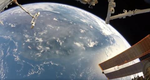 Video della terra dalla ISS ripreso con una GoPro | video