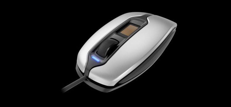 Cherry MC 4900: nuovo mouse con lettore di impronte