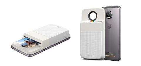 """Motorola annuncia oggi il nuovo moto mod """"Insta-Share Printer"""" di Polaroid."""