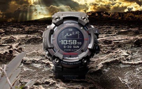 Nuovo Casio G-Shock GPR B1000, primo smartwatch con pannelli solari