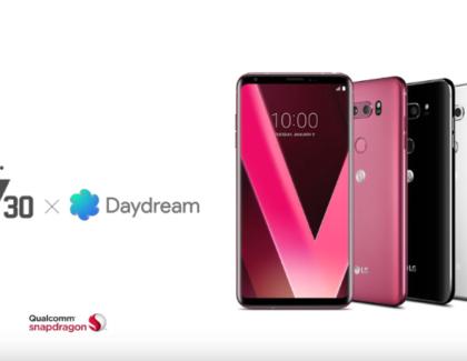 LG V30, Google Daydream e alieni nel nuovo video pubblicitario