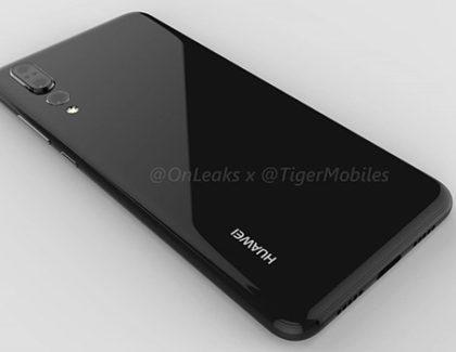 Huawei P20 Plus appare in alcune immagini e video render