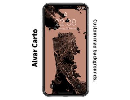 Alvar Carto: sito web per creare sfondi con le mappe Google