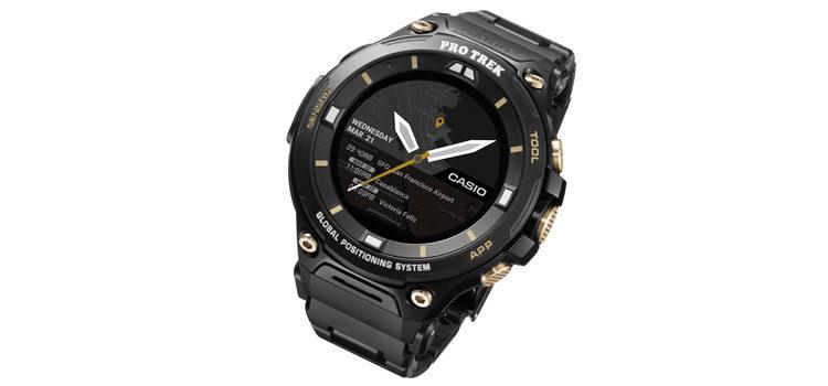 Casio Pro Trek WSD-F20SC: smartwatch rugged di lusso in edizione limitata