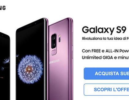 Galaxy S9 ed S9 Plus arrivano con 3 Italia. ALL-IN Power e Free Power con GB illimitati