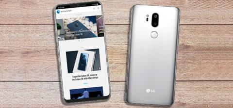 LG G7 mostrato in nuovi render con bordi sottili e notch superiore