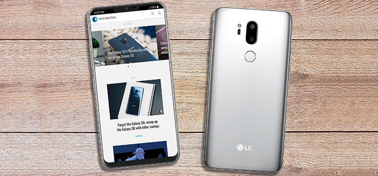 LG G7 mostrato in nuovi render con bordi sottili e notch superiore