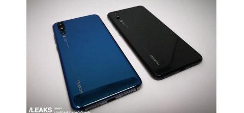 Huawei P20 e P20 Pro, emerse caratteristiche tecniche, funzionalità e foto