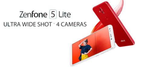 ASUS ZenFone 5 Lite a 299 euro in Italia dal 29 marzo