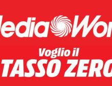 MediaWorld lancia il Tasso Zero sugli acquisti oltre i 199 euro