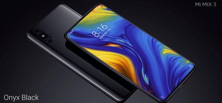 Xiaomi Mi Mix 3 è ufficiale: caratteristiche e prezzi e date di lancio in Cina