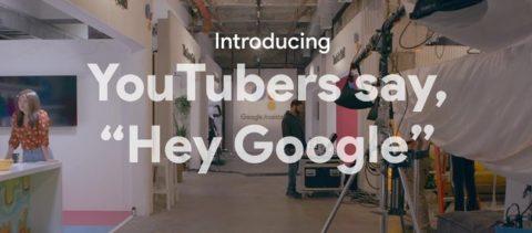 Google Assistant Routine pubblicizzato da alcuni famosi youtubers