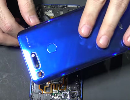 Honor View 20 disassemblato in un primo teardown