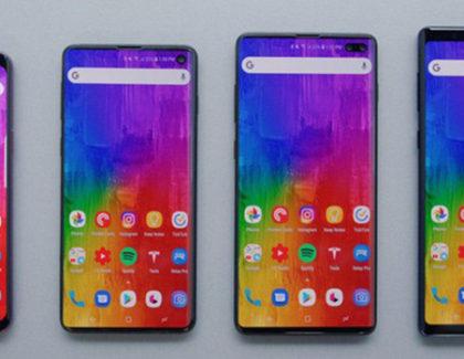 Galaxy S10 ed S10 Plus mostrati in nuovi mockup