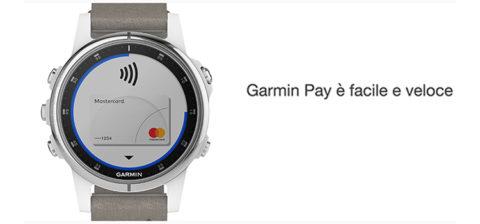 Garmin Pay finalmente utilizzabile in Italia. Accordo con più di 100 banche