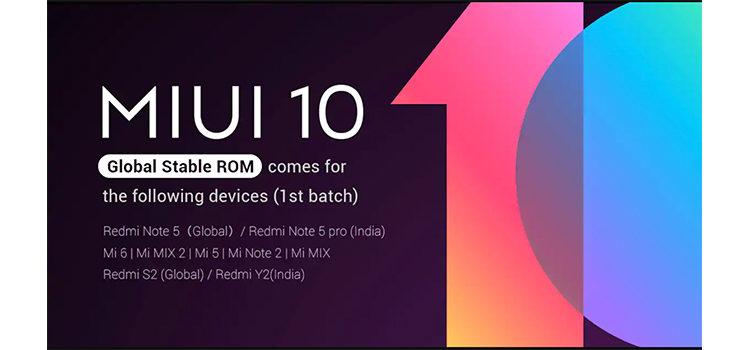 MIUI 10 Global Beta si aggiorna portando diverse migliorie