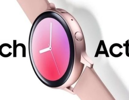 Nuove foto del Galaxy Watch Active 2 con ghiera touch e bluetooth 5.0