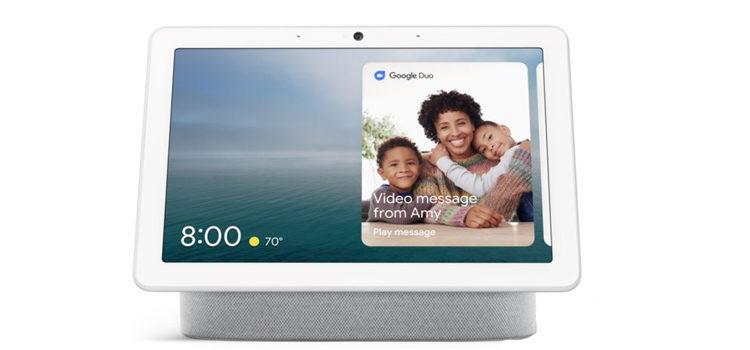 Google Nest Hub Max il 9 settembre lancio sul mercato