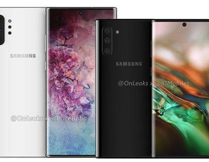 Per il modello base del Galaxy Note 10, display solo FullHD+