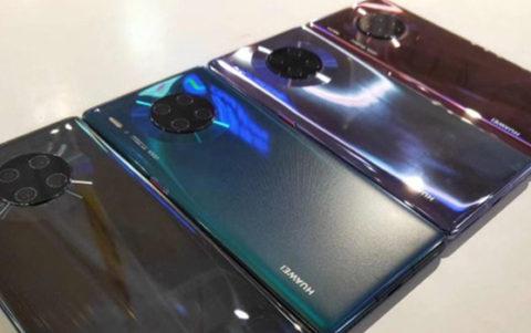 Ecco i Huawei Mate 30 e 30 Pro: foto, video e render