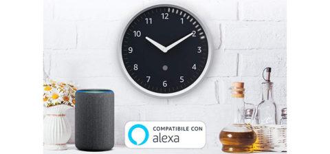 Echo Wall Clock: orologio smart con Amazon Alexa a 29 euro