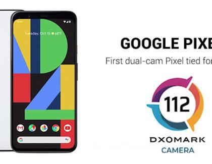 Google Pixel 4 si piazza ottavo nella classifica di DxOMark