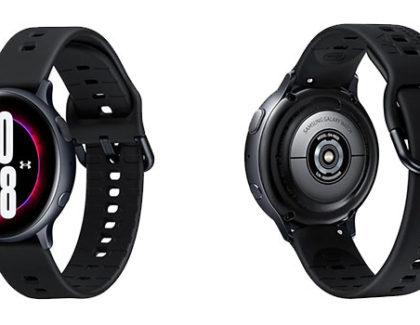 Galaxy Watch Active 2 Under Armor Edition. Disponibile da oggi