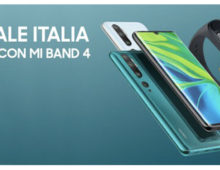 Xiaomi Mi Note 10 in Italia a 549 euro con Mi Smart Band 4