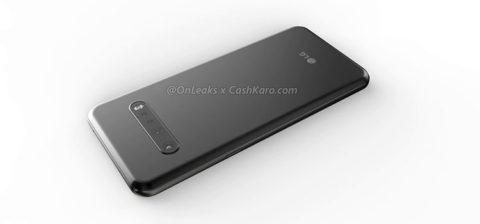 LG G9: appaiono nuovi render della scocca