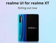 Realme XT inizia a ricevere Android 10 e la nuova UI