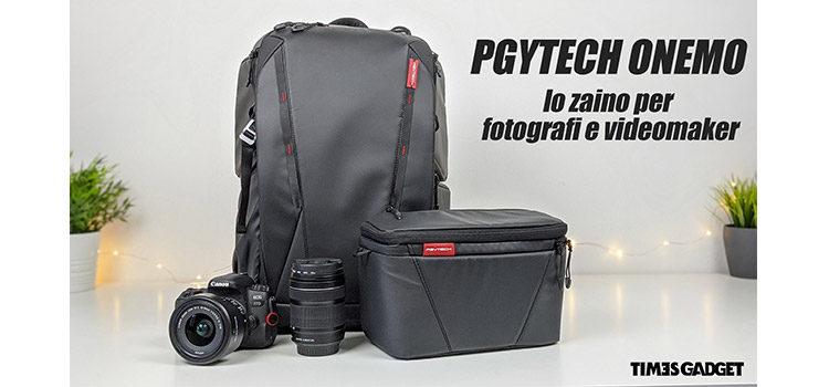 PGYTECH ONEMO: lo zaino fotografico dedicato ai professionisti
