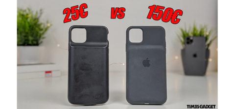 SmartBattery Case Apple 150€ vs Battery Cover da 29€. Quale conviene acquistare?