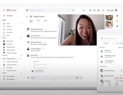 Google inizia a unificare Chat, Meet, Room e Docs in Gmail